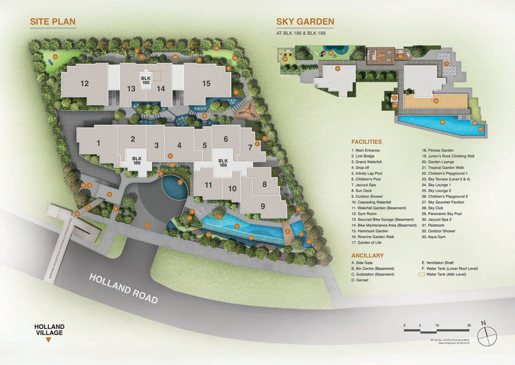 Van Holland-Site-Plan-freehold-condo-singapore