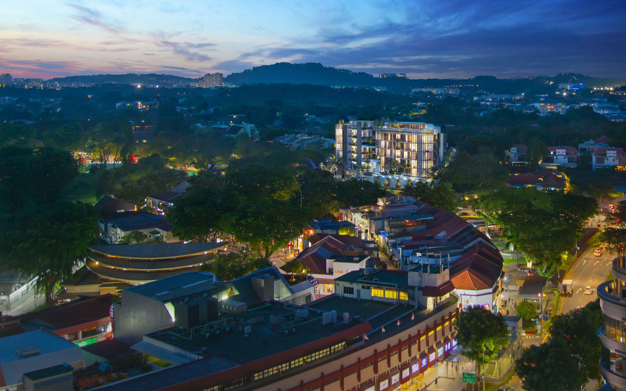 van-holland-condo-near-holland-village-mrt-singapore-Aerial-View