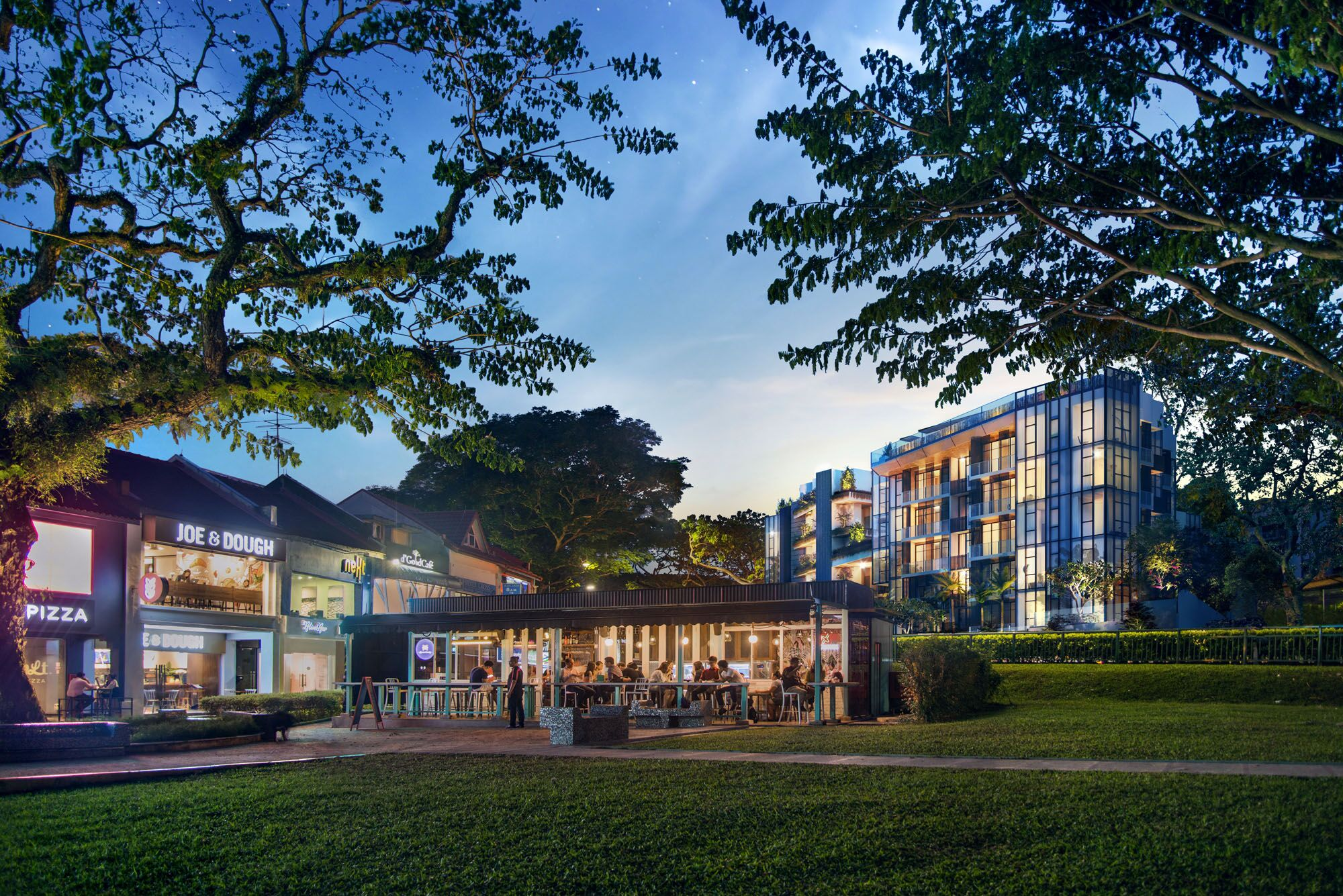 van-holland-freehold-condo-Toho-Mansion-singapore-Street- Level
