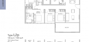 van-holland-floor-plan-4-bedroom-exclusive-type-L2-singapore